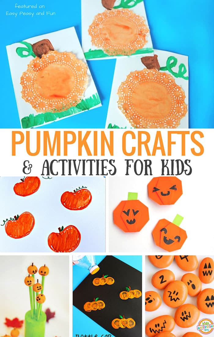 Superior Pumpkin Craft Ideas For Kids Part - 9: Pumpkin Crafts And Activities For Kids