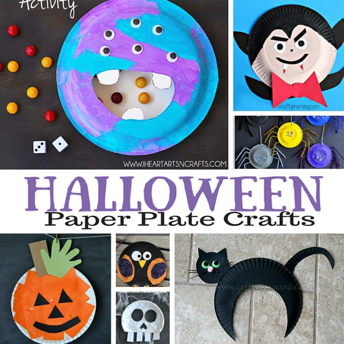 Spooky Halloween Paper Plate Crafts For Kids  sc 1 st  Easy Peasy and Fun & Halloween Paper Plate Crafts for Kids - Easy Peasy and Fun