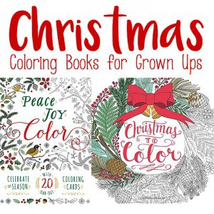 Christmas Adult Coloring Books