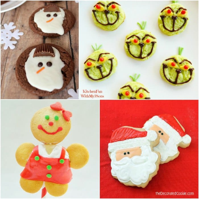 Christmas Character Coookies