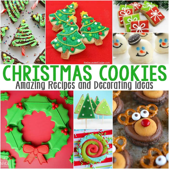 christmas cookies amazong recipes and decorating ideas