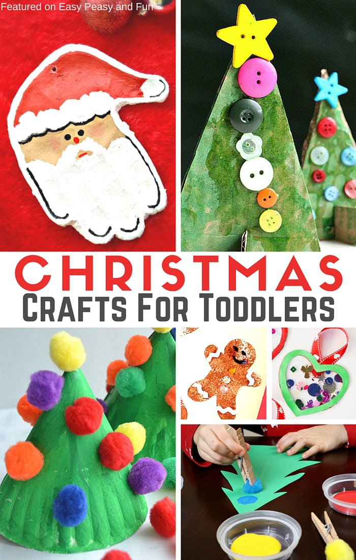 simple christmas crafts for toddlers easy peasy and fun. Black Bedroom Furniture Sets. Home Design Ideas
