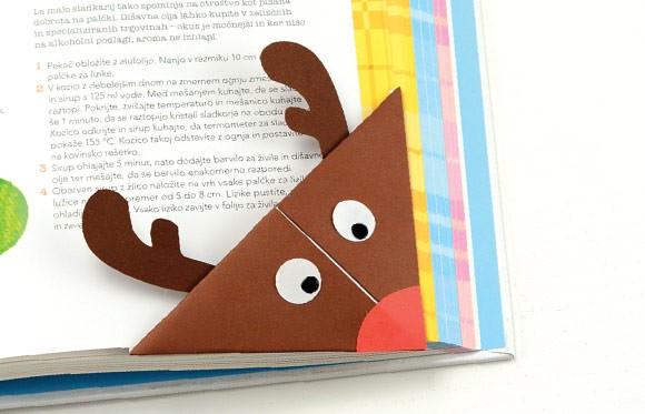 Reindeer Origami Corner Bookmark Easy Peasy And Fun