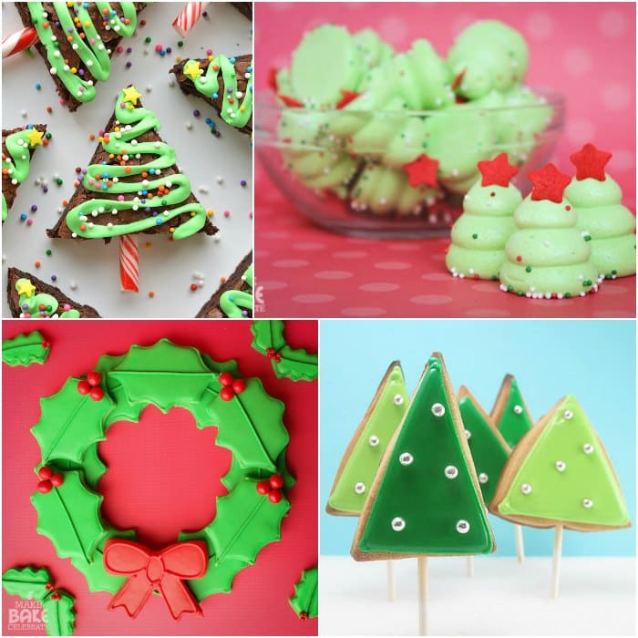 christmas tree cookie decorating ideas