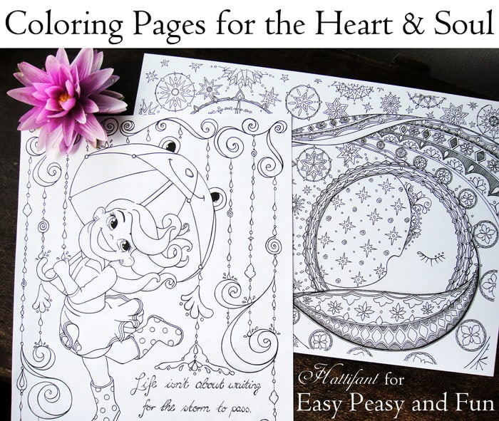 Coloring Pages for the Heart and the Soul
