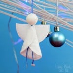 Cotton Rounds Angels Ornaments – Christmas Ornaments for Kids to Make