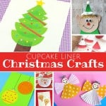 Christmas Cupcake Liner Crafts