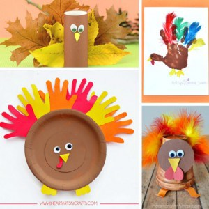 Turkey Crafts for Kids – Wonderful Art and Craft Ideas for Fall and Thanksgiving