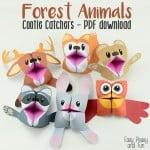 Fun Forest Animals Cootie Catchers