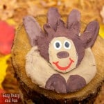 Salt Dough Hedgehog Craft