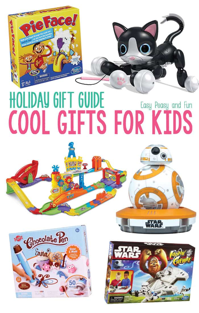 Cool Christmas Gifts for Kids - Easy Peasy and Fun