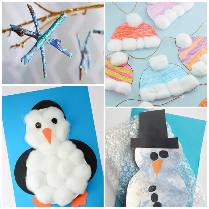 simple winter crafts for toddlers easy peasy and fun
