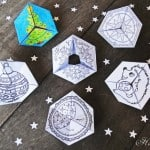 Fun Flextangle Paper Toys - Free Printable