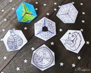 Fun Flextangle Paper Toys - Free Printable