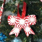 Peppermint Candy Ornaments – DIY Christmas Ornaments