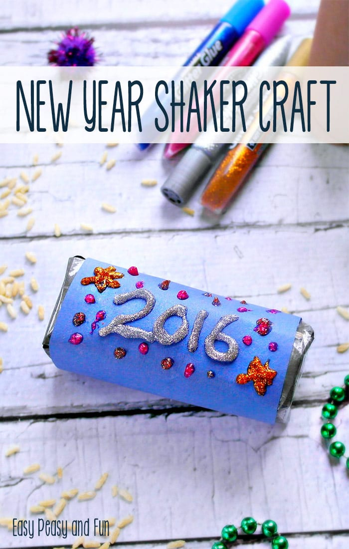 New year 39 s eve rice shaker craft easy peasy and fun for New year s crafts for preschoolers