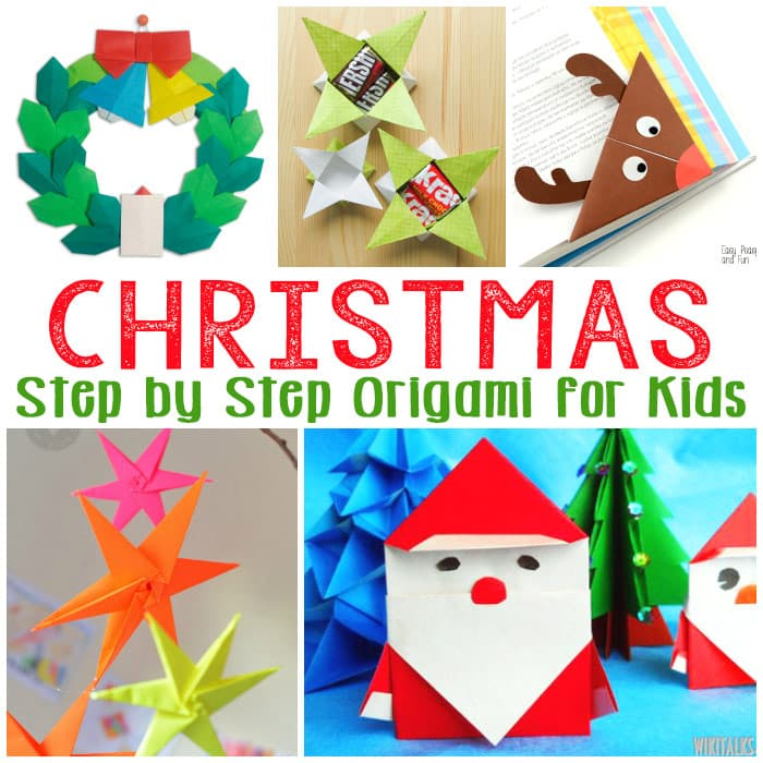 Christmas Origami for Kids - Easy Peasy and Fun - photo#15