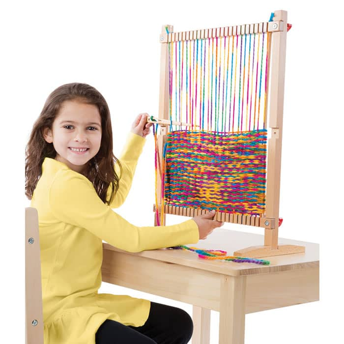 If You Want Your Kids To Get Creative Why Not Them A Weaving Loom They Ll Be Able Create All Kinds Of Things Rugs Bags Mats