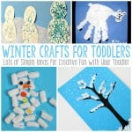 Winter Crafts for Todders