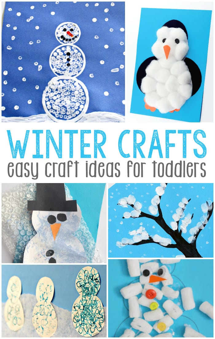 Simple winter crafts for toddlers easy peasy and fun for Simple handicraft project