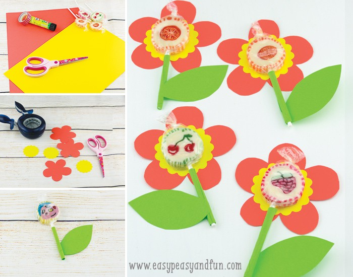 Adorable Lollipop Flowers
