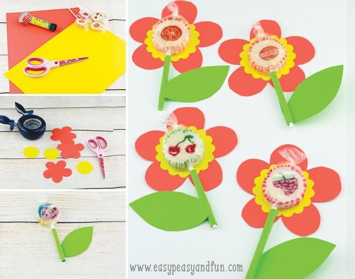 Adorable Lollipop Flowers