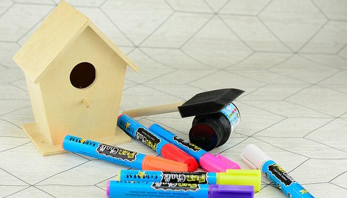 Bird House Materials
