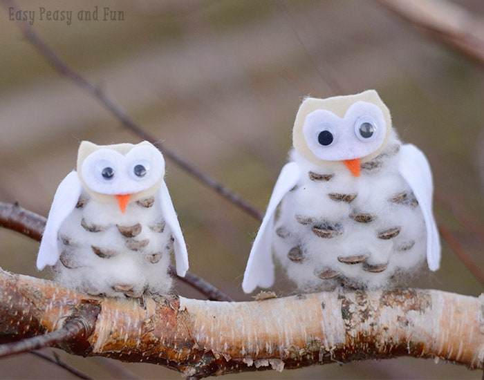 Fun Winter Owls Craft