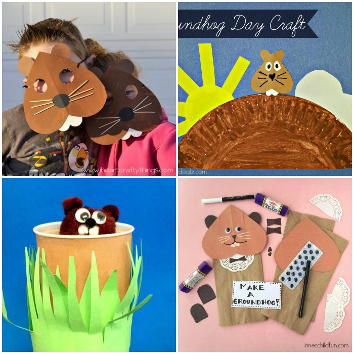 Groundhog Day Craft Ideas for Kids