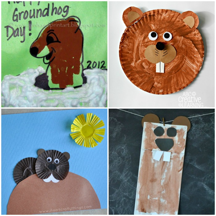 Groundhog Day Craft Ideas