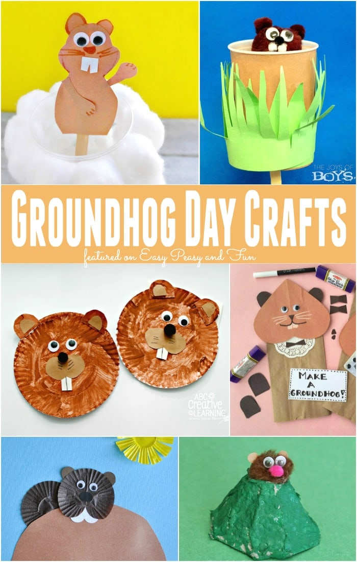 Groundhog Day Crafts - Simple Ideas for Kids to Make