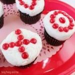 XOXO Valentines Day Cupcakes