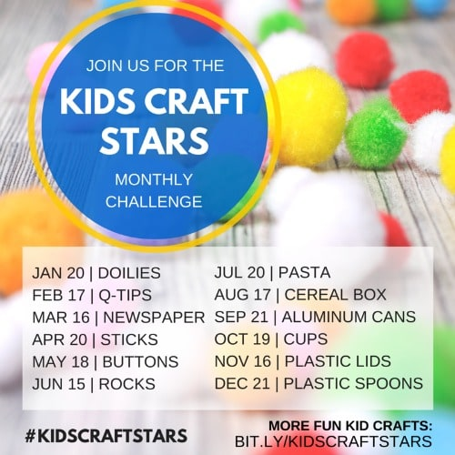 Kids Craft Stars Challenge
