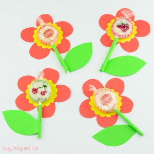 Sweet Lollipop Flowers