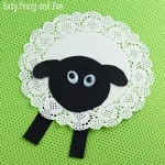 Doily Sheep Craft