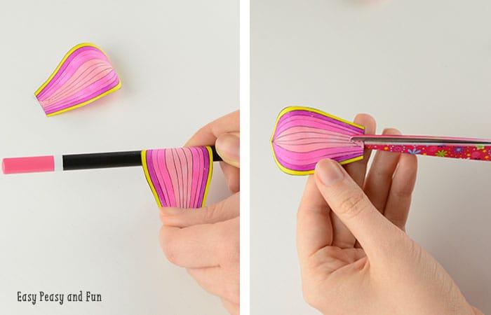Making the 3D Flower Petals