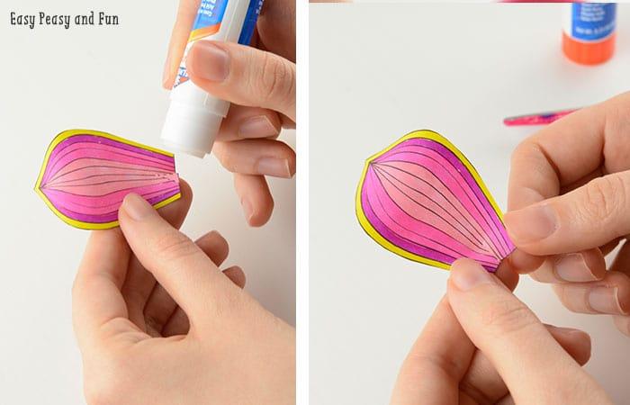 Paper Craft Petals