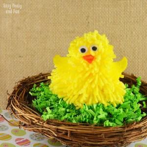 Cute Chick Pom Pom Craft – Pom Pom Crafts