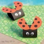 Simple Ladybug Craft for Kids