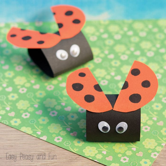 Simple Ladybug Craft for Kids