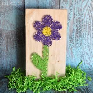 Flower String Art for Begginers
