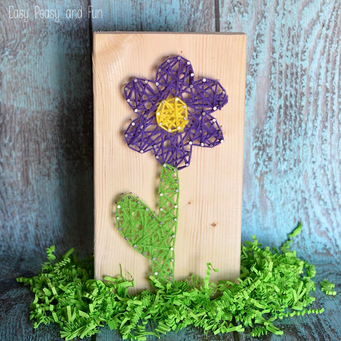 Flower String Art for Begginers
