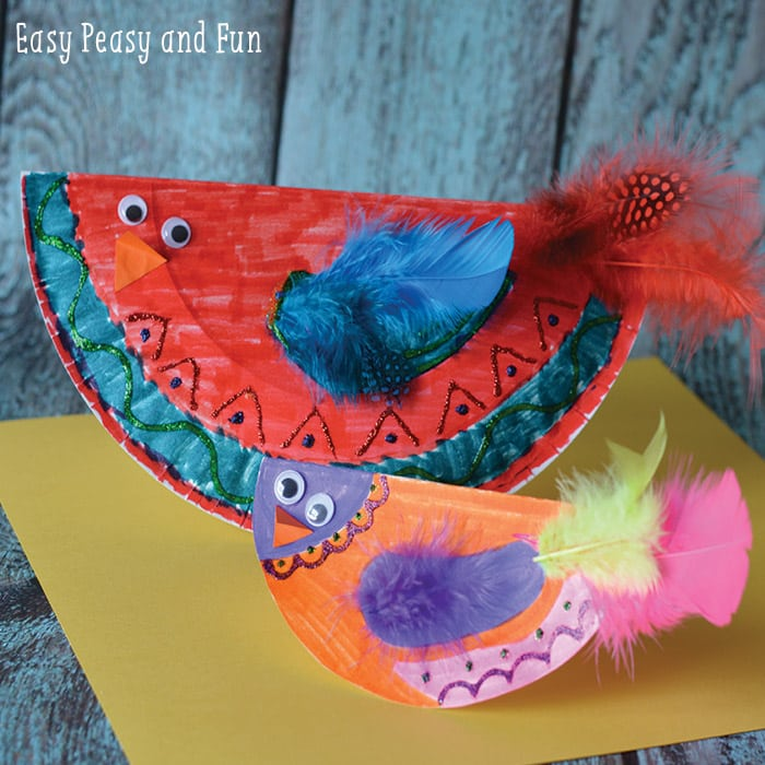 paper plate bird craft paper plate bird craft paper plate crafts easy peasy 5103