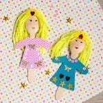 Princess Wooden Spoon Puppet Crafts