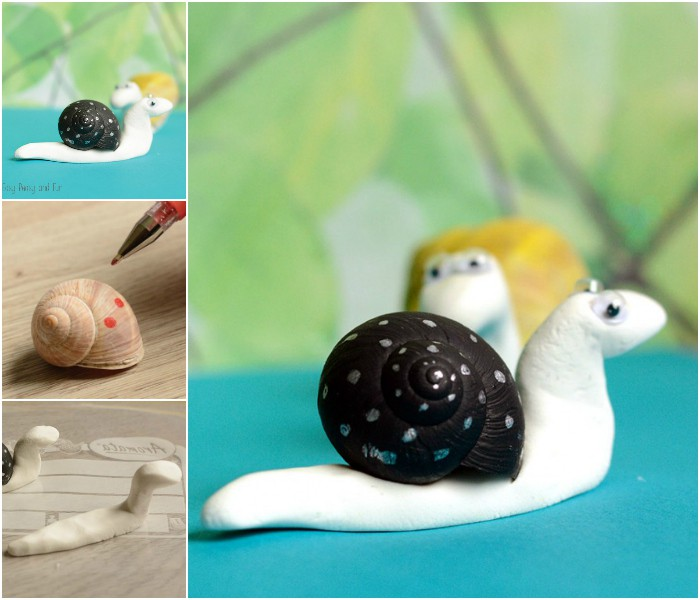 Snail Shell Craft