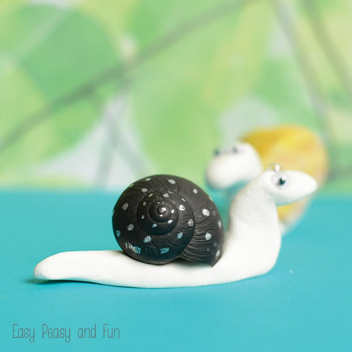 Snail Shell Snail Craft Creative Nature Craft