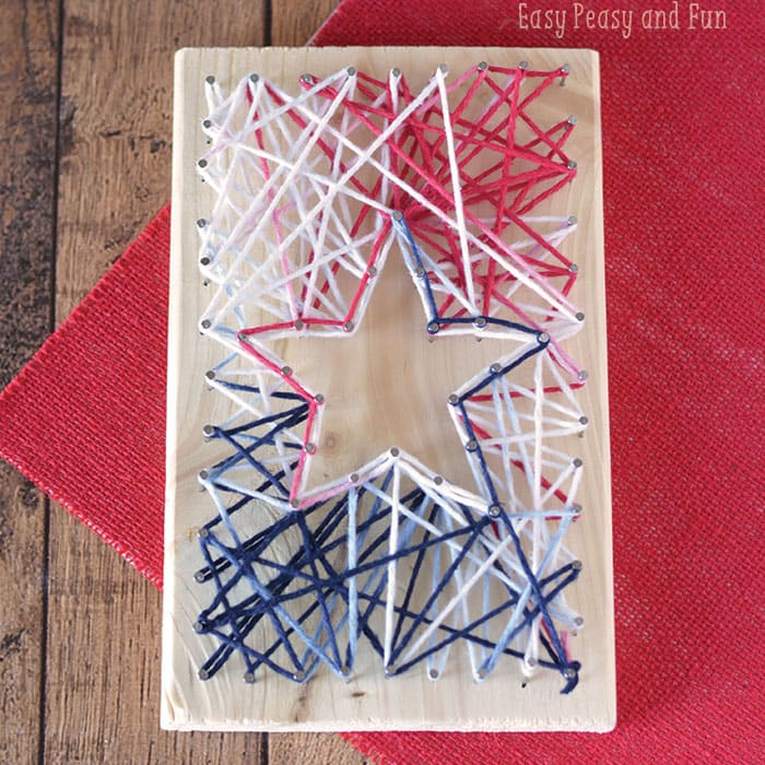 String Art Star - Simple String Art for Kids