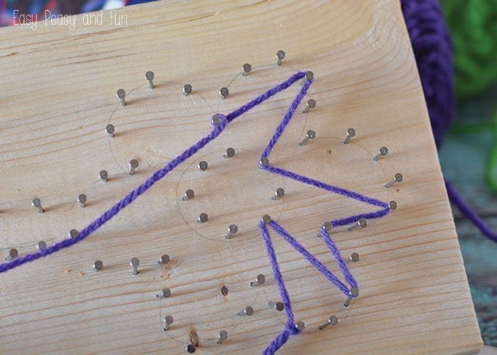 Stringing The Yarn