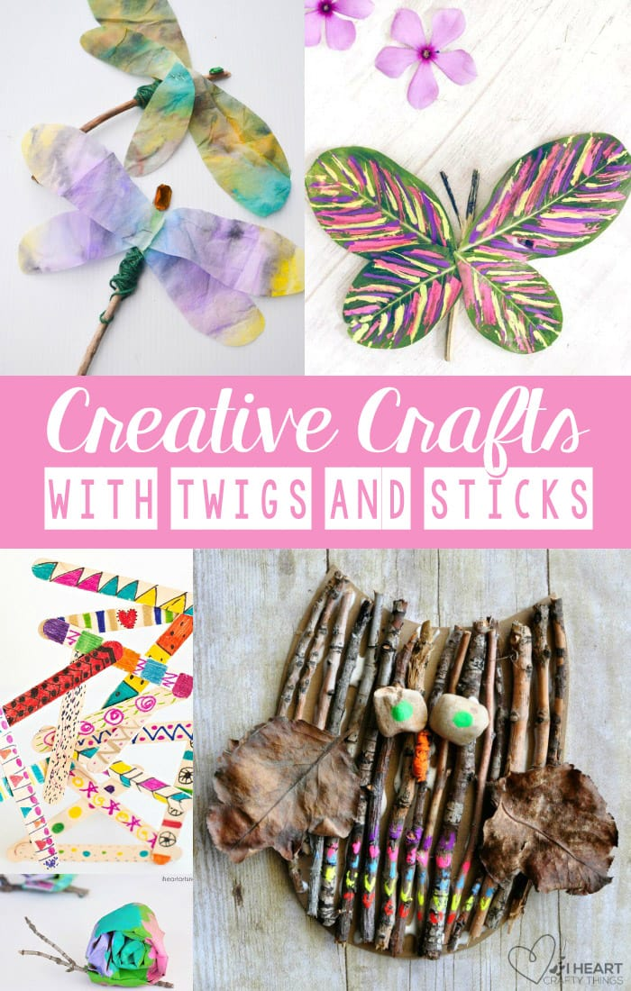 Creative Fun For All Ages With Easy Diy Wall Art Projects: Creative Crafts With Sticks And Twigs