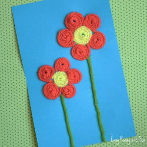 Cute Flower Craft for Kids